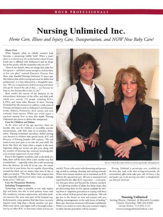 Nursing Unlimited, Inc in Grosse Pointe Woods, Michigan